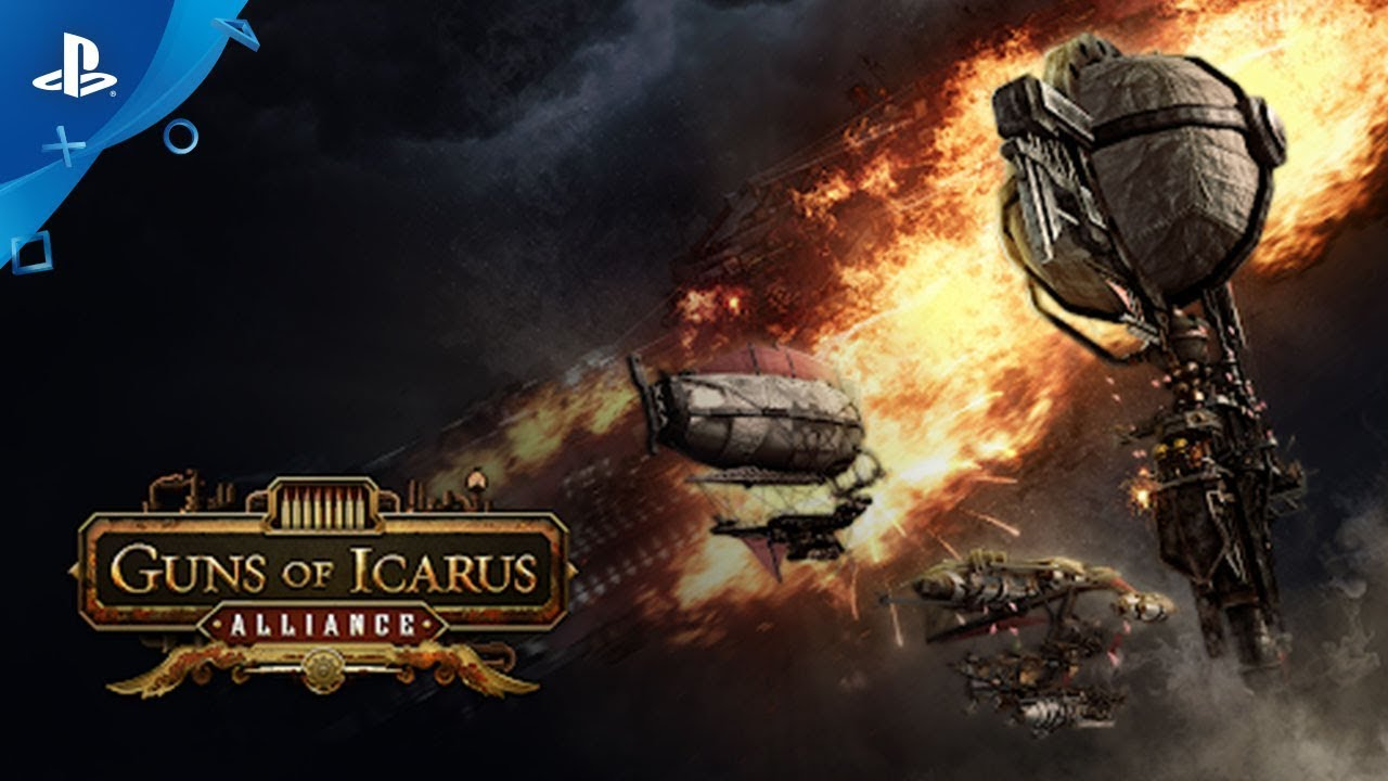 Take to the Skies with Guns of Icarus Alliance, Out May 1 for PS4