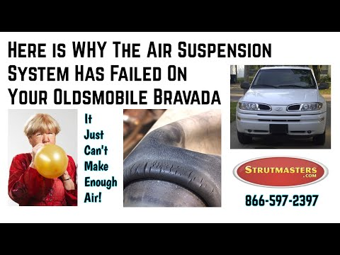 Diagnosing Failed Air Suspension On The 2002-2009 Oldsmobile Bravada