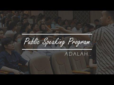 Apa itu Public Speaking