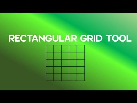 Adobe Illustrator CC Tutorial   Line Segment Tools – Rectangular Grid Tool #C4-E4