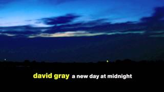 "David Gray - ""Dead in the Water"""