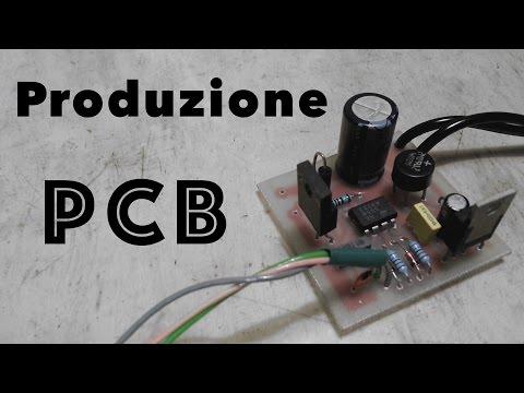Fotoincisione Circuiti Stampati o PCB - Fai da Te