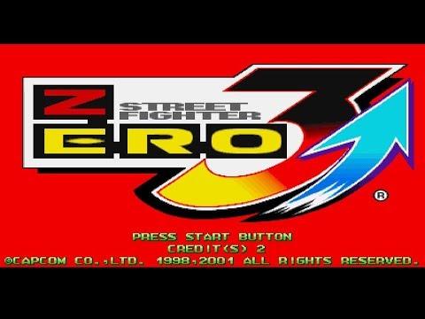 Street Fighter Zero 3 Upper   SEGA NAOMI   HD   DEMUL EMULATOR
