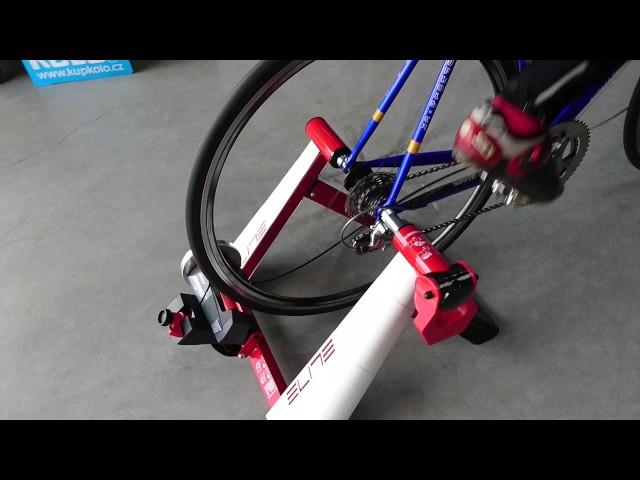 Видео Велотренажер велостанок Elite NOVO FORCE