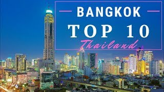 10 Amazing Things To Do in Bangkok - 10 Highlights not to be missed, Thailand [4K]