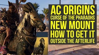 Assassin's Creed Origins DLC New Mount ETERNAL MAW How To Get It (AC Origins Curse of the Pharaohs)