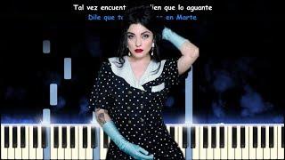 Mon Laferte   Chilango Blues   Piano Cover   Karaoke Instrumental