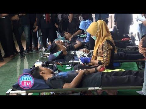Hari Kemerdekaan, Keluarga Besar Qnet Amoeba Trenggalek Sumbangkan Darahnya - bioztv.id