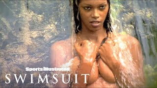 Enter The Secret Garden & Get Wet With Jessica White & Yasmin Brunet | Sports Illustrated Swimsuit