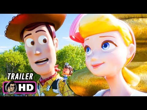 TOY STORY 4 Official Trailer (2019) Disney Pixar