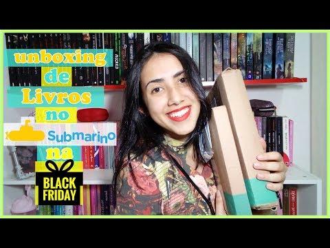 UNBOXING | Black Friday | PROMOÇÃO  SUBMARINO | Leticia Ferfer | Livro Livro Meu