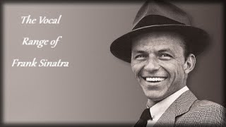 The Vocal Range of Frank Sinatra -- D2-G♯4