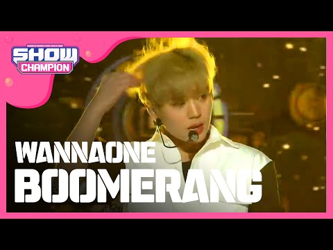 show champion ep 264 wanna one boomerang