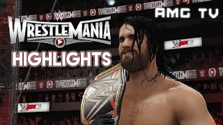 WWE 2K16: WrestleMania 31 Highlights