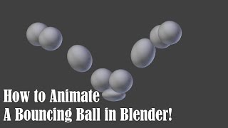 Animando bauncing ball no blender!