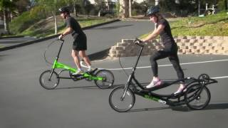 Taking Your First Ride or a Test Ride on an ElliptiGO Elliptical Bicycle