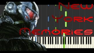 Synthesia [Piano Tutorial] Crysis 3 - New York Memories