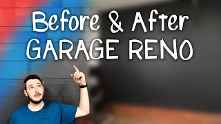 Garage Conversion Into My Dream Shop Part 4 - Finale - Garage Reno Before And After