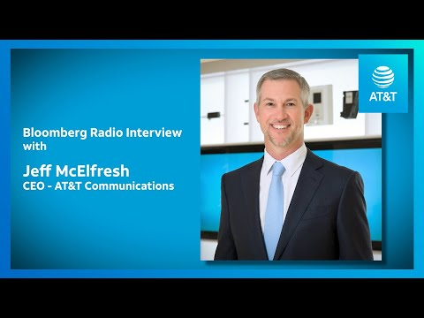 AT&T CEO Discusses AT&T, FirstNet, and COVID-19 Response-youtubevideotext