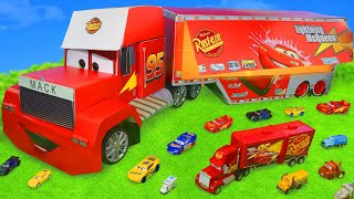 Cars Mack Truck Surprise Toys: Lightning McQueen & Toy Vehicles for Kids