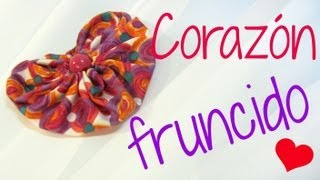 Cómo Hacer Corazones De Tela. How To Make Fabric Hearts.