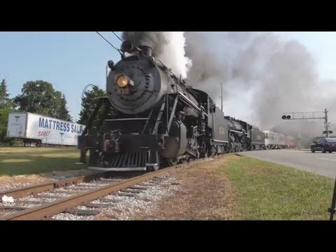 Download Chasing The Southern 4501 Summerville Steam Special Video