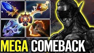 EPIC GAME! Divine Rapier AM ComeBack MEGA CREEP - Dota 2 Pro gameplay