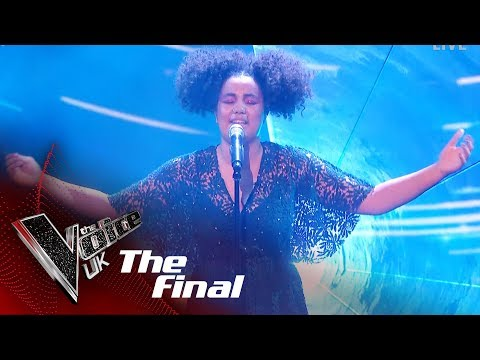 Ruti Olajugbagbe Performs 'If You're Not The One': The Final   The Voice UK 2018