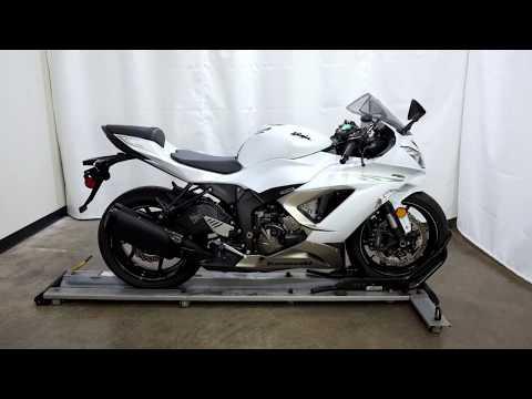 2017 Kawasaki Ninja ZX-6R ABS in Eden Prairie, Minnesota - Video 1