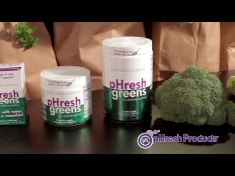 pHresh Greens Raw Organic Superfoods