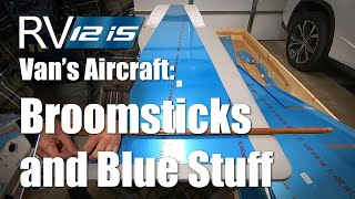 RV Aircraft Video - Broomsticks and Blue Stuff