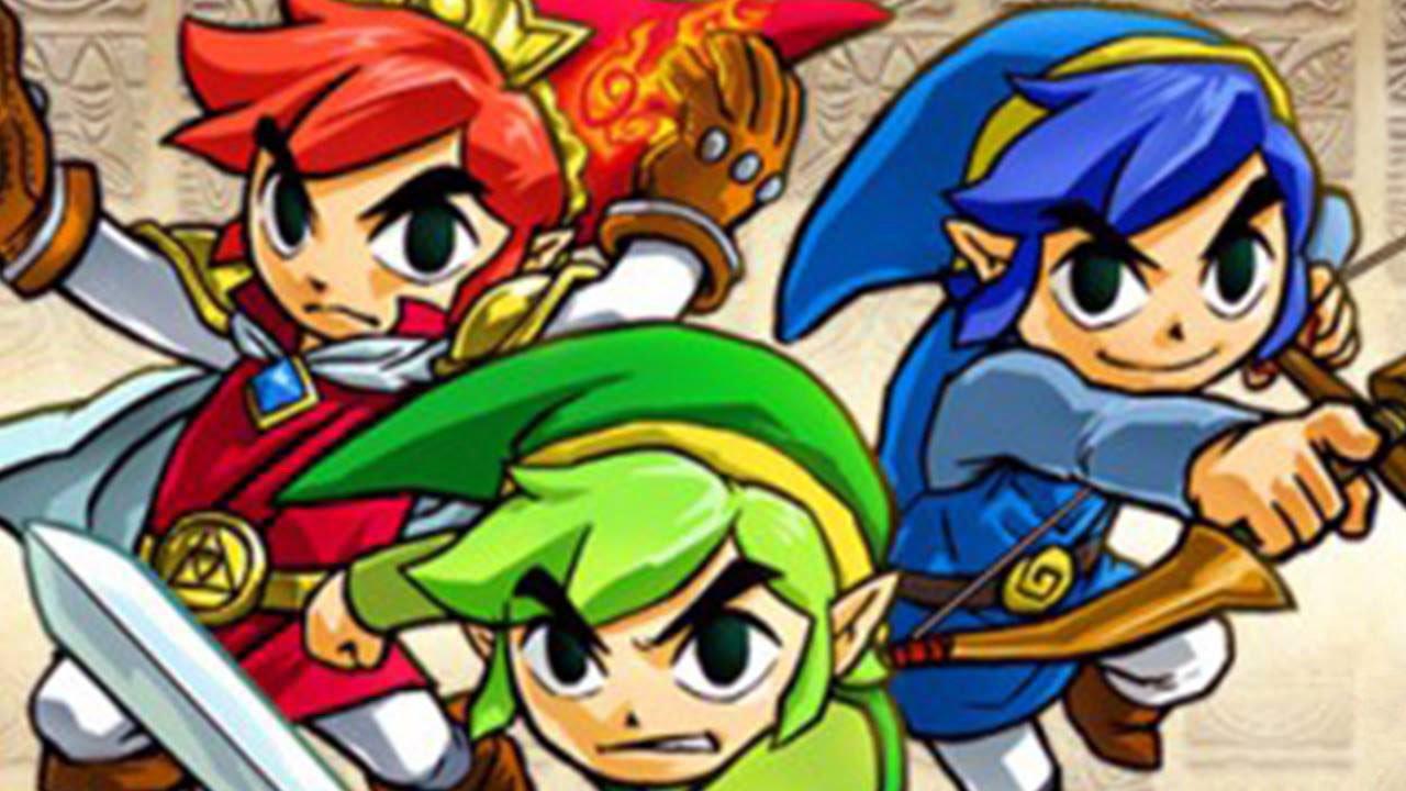 THE LEGEND OF ZELDA Tri Force Heroes Trailer [E3 2015] #VideoJuegos #Consolas