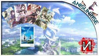 Посылка с ранобэ Sword art Online и Твоё имя ^_^