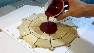 Making a Simply Wooden Clock using Epoxy