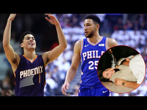 Ben Simmons Trolled For Getting His GF Stolen By Devin Booker The Day After Book Dropped 36 On Him