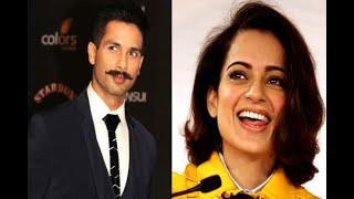 In Graphics: shahid kapoor thanks kangana ranaut for supporting padmavati