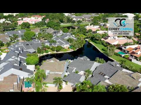 Pelican Bay Bridgeway Villas Naples, Florida video