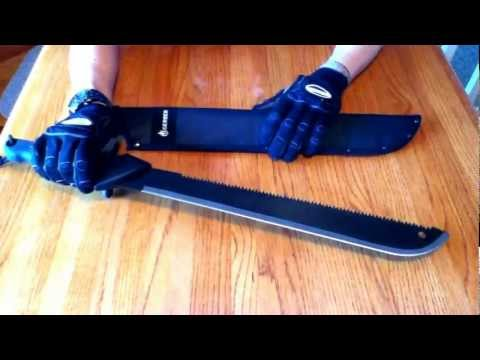 Knife reviews by Ice – Gerber Gator Machete