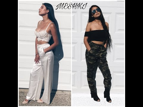 MESHKI Boutique Review + Try On | Crystal Vargas