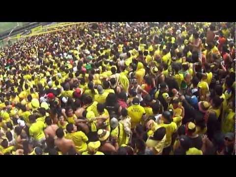 """""""el campeonato desde la sur oscura"""" Barra: Sur Oscura • Club: Barcelona Sporting Club"""