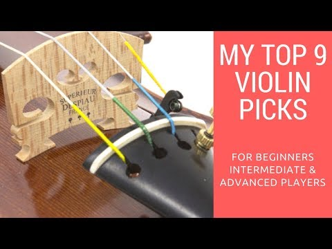 MY TOP PICKS | 9 VIOLINS THAT WILL CHANGE YOUR LIFE!!