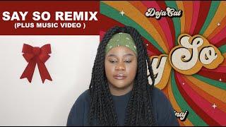 Doja Cat, Nicki Minaj - Say So Remix  REACTION 