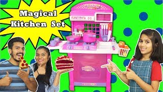 Pari's Magical Kitchen Set | Pari Playing With Magical Kitchen Set