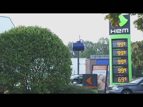 Bensokossa der Aufwand des Benzins