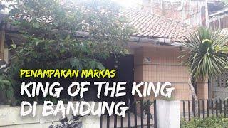 Penampakan Markas King of The King di Bandung, Tampak seperti Rumah Biasa