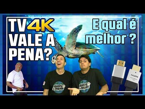 🌎 TV 4K vale a pena? E qual é melhor?