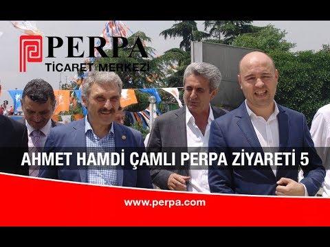 Ahmet Hamdi Çamlı Perpa Ziyareti 05