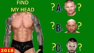 WWE QUIZ - Only True WWE Fans Can Find WWE Superstars HEAD [HD]