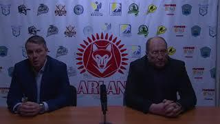 Пресс-конференция «Арлан»-«Алматы» (30.01.18)