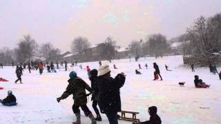 preview picture of video 'Blythe_Hill_Snow_Feb13'